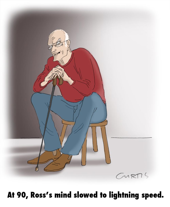 ageing cartoon | clues...