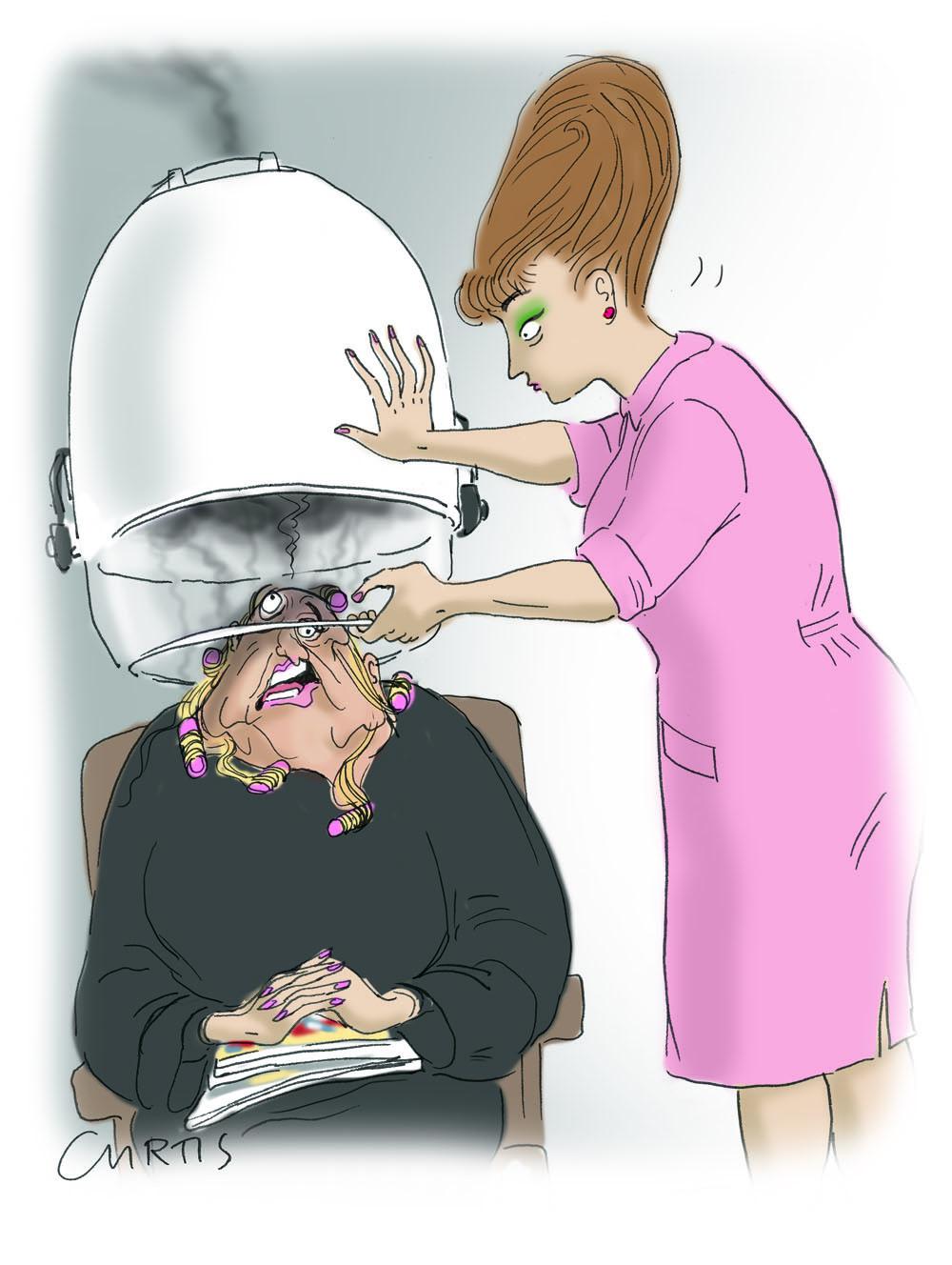 Hair Salon Cartoon Cluestolife
