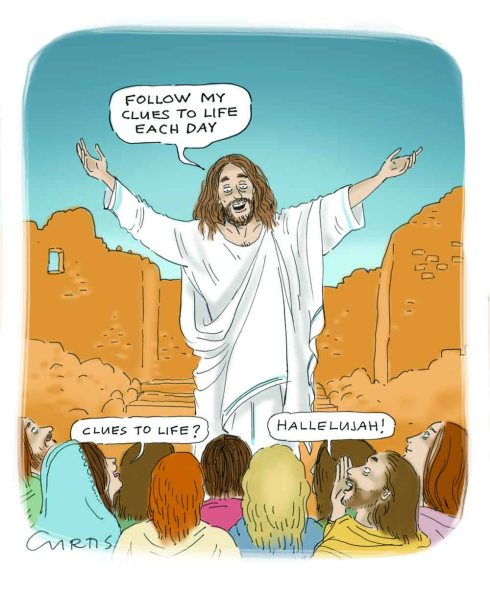 jesus cartoon | cluestolife